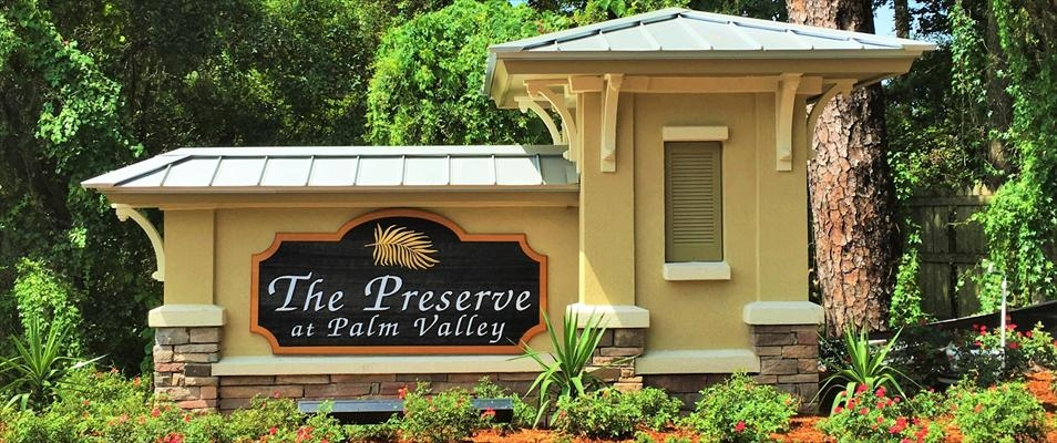 The Preserve at Palm Valley New Homes For Sale Ponte Vedra Beach FL