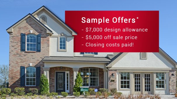 Nocatee New Home Hot Deals and Incentives