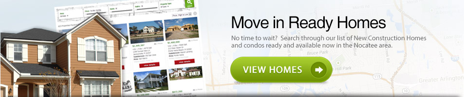 New Quick Move in Homes